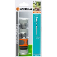 Gardena ORIGINAL Threaded Tap and Hose Pipe Connector Set