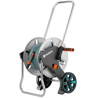 Gardena Metal Aquaroll M Hose Trolley Set