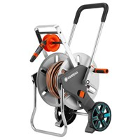 Gardena Metal Aquaroll M Easy Hose Trolley Set