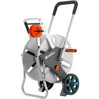 Gardena Metal Aquaroll L Easy Empty Hose Trolley