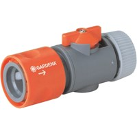 Gardena ORIGINAL Hose Pipe Connector with Control Valve