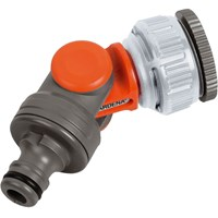 Gardena ORIGINAL Angled Threaded Tap Hose Pipe Connector