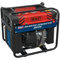 Sealey GI3500 Petrol Inverter Generator 4.3kva