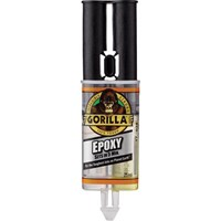 Gorilla Glue 2 Part Fast Setting Epoxy Adhesive Filler Syringe