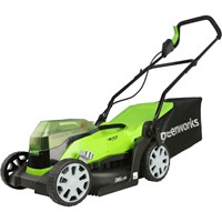 Greenworks G24X2LM36K 48v Cordless Rotary Lawnmower 360mm (Uses 2 x 24v)