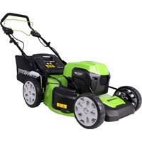 Greenworks GD24X2LM46SK 48v Cordless Self Propelled Rotary Lawnmower 460mm (Uses 2 x 24v)