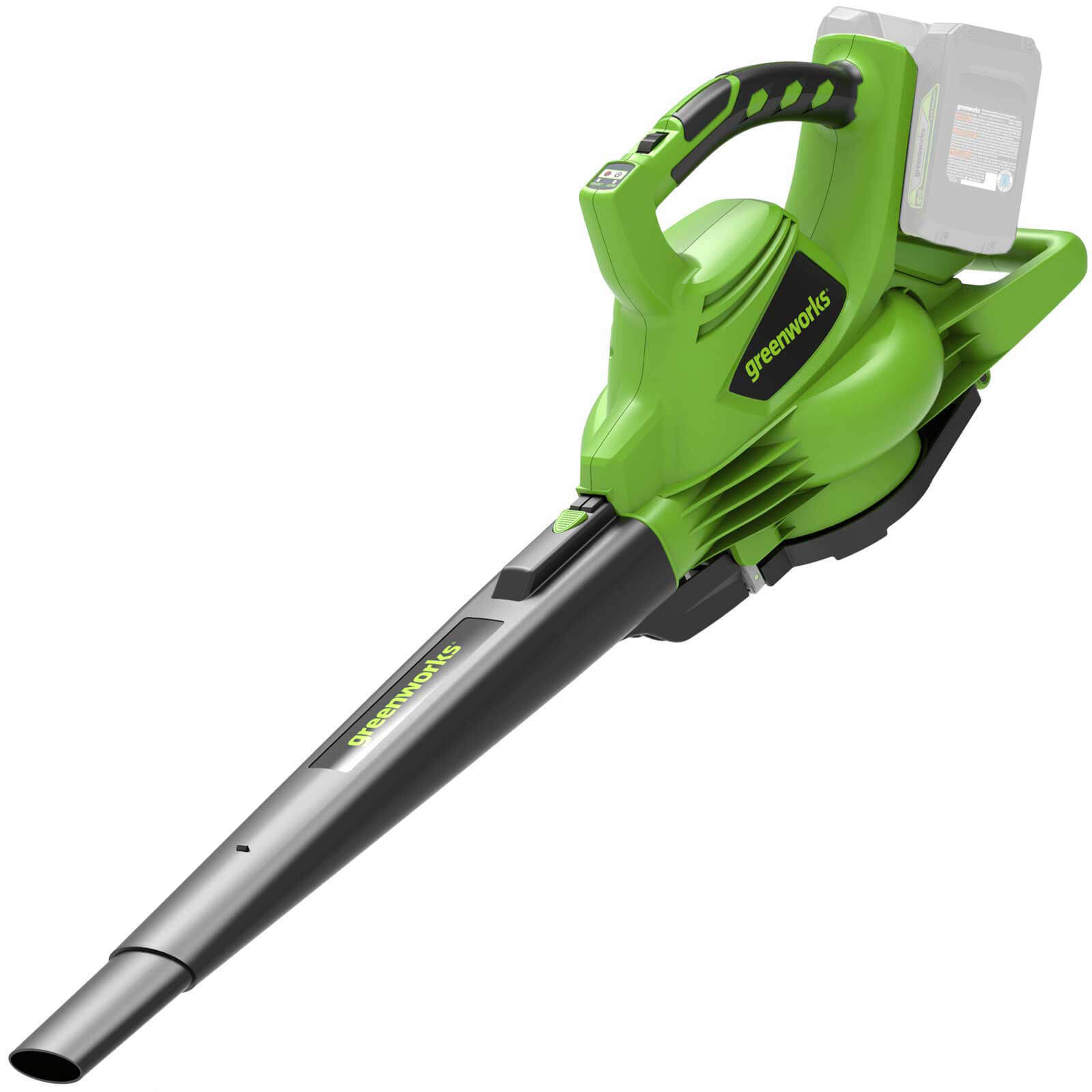 Greenworks GD24X2BV 48v Cordless Leaf Blower and Vacuum (Uses 2 x 24v) No Batteries No Charger