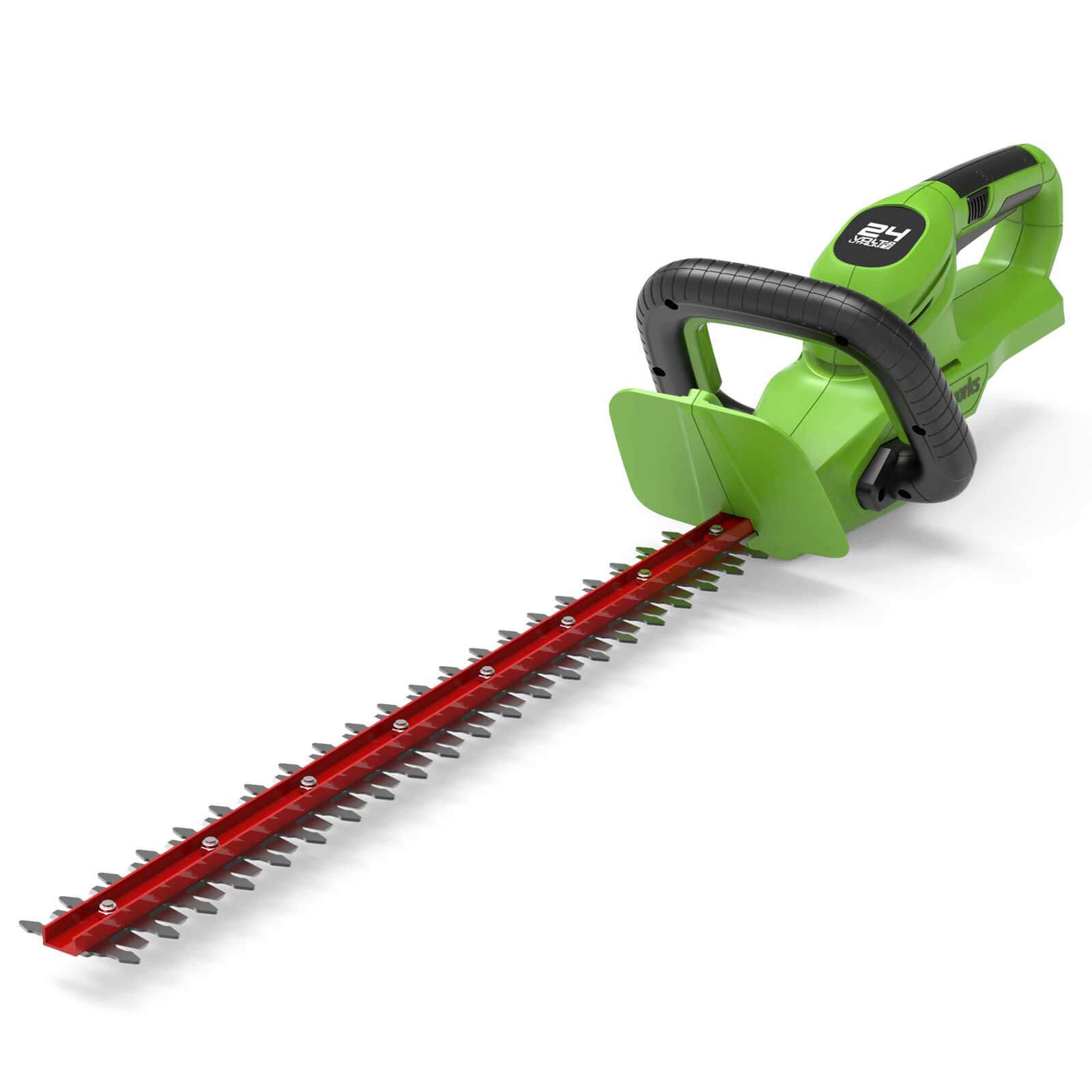 Greenworks G24HT56 24v Cordless Hedge Trimmer 560mm No Batteries No Charger