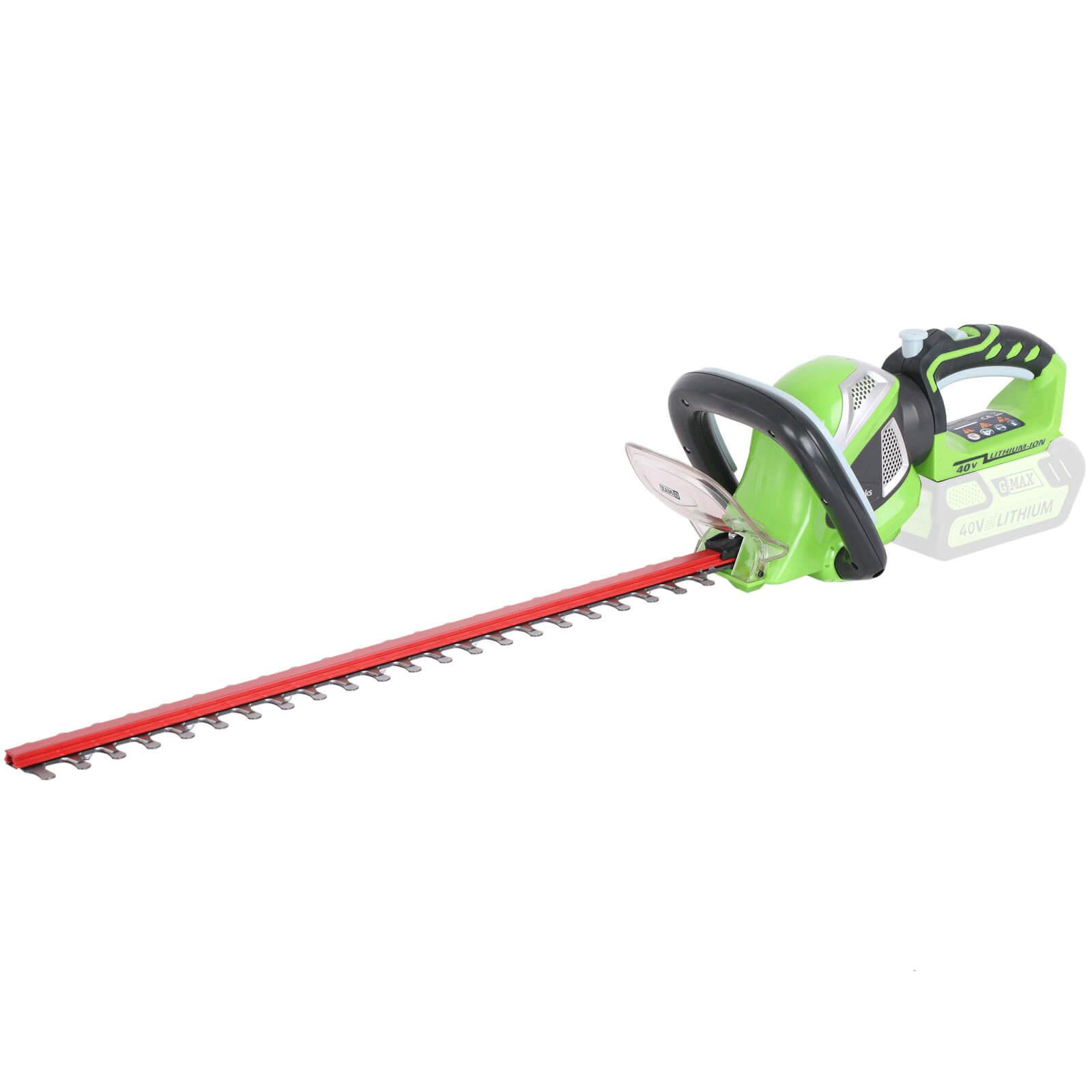 Greenworks G40HT61 40v Cordless Hedge Trimmer 610mm No Batteries No Charger
