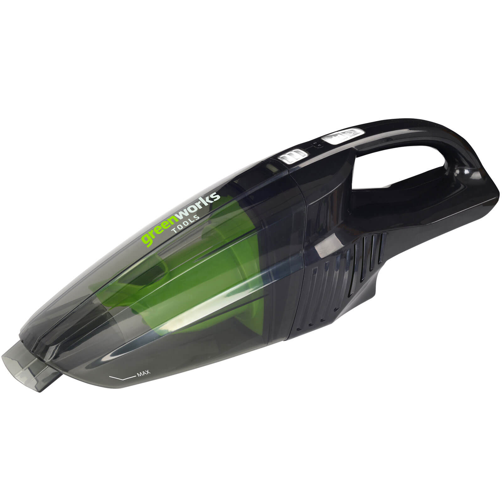 Greenworks G24HV 24v Cordless Wet & Dry Hand Held Vacuum Cleaner No Batteries No Charger