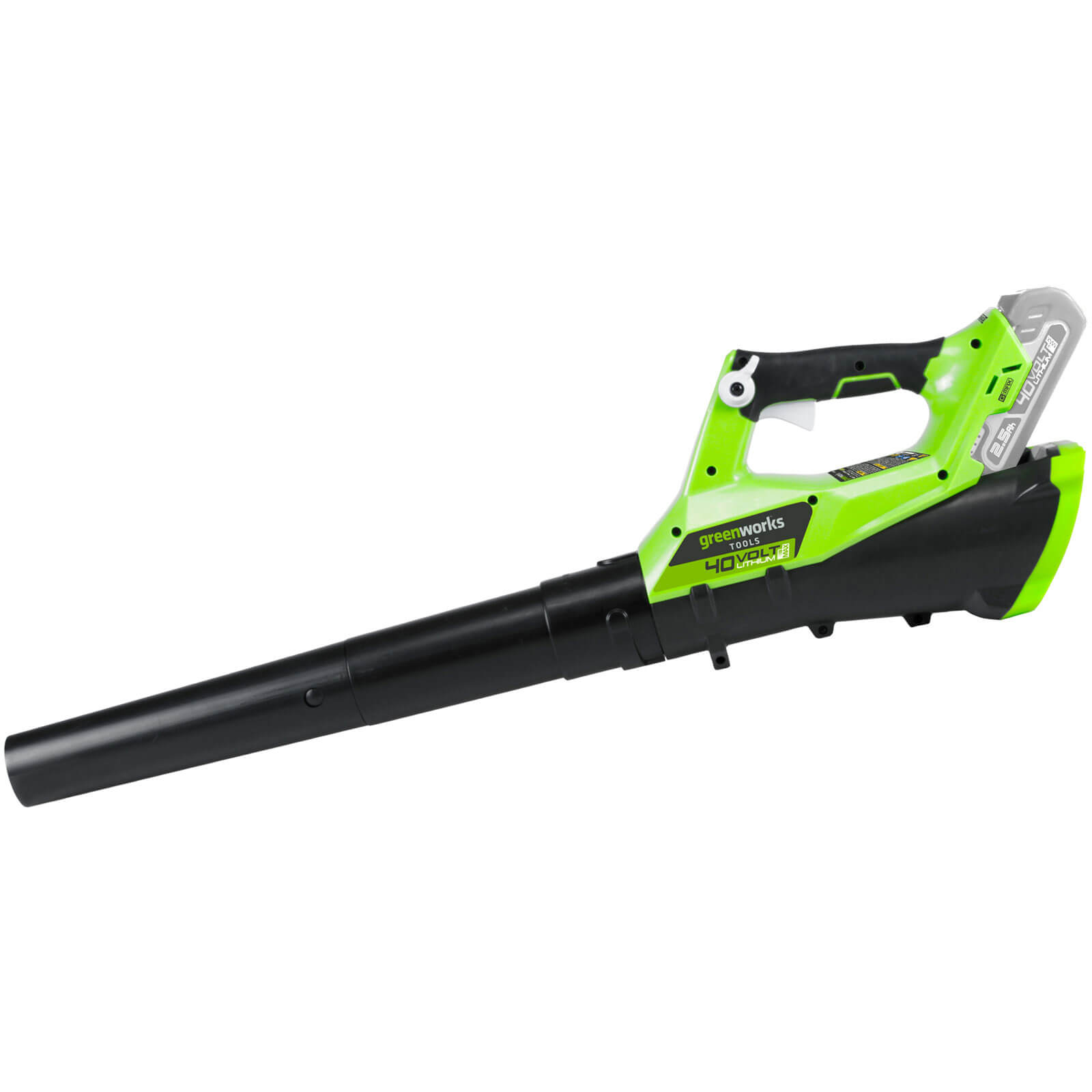 Greenworks G40AB 40v Cordless Axial Garden Leaf Blower No Batteries No Charger