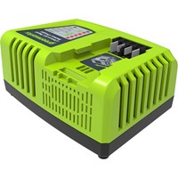 Greenworks G40UC4 40v Cordless Li-ion Fast Battery Charger