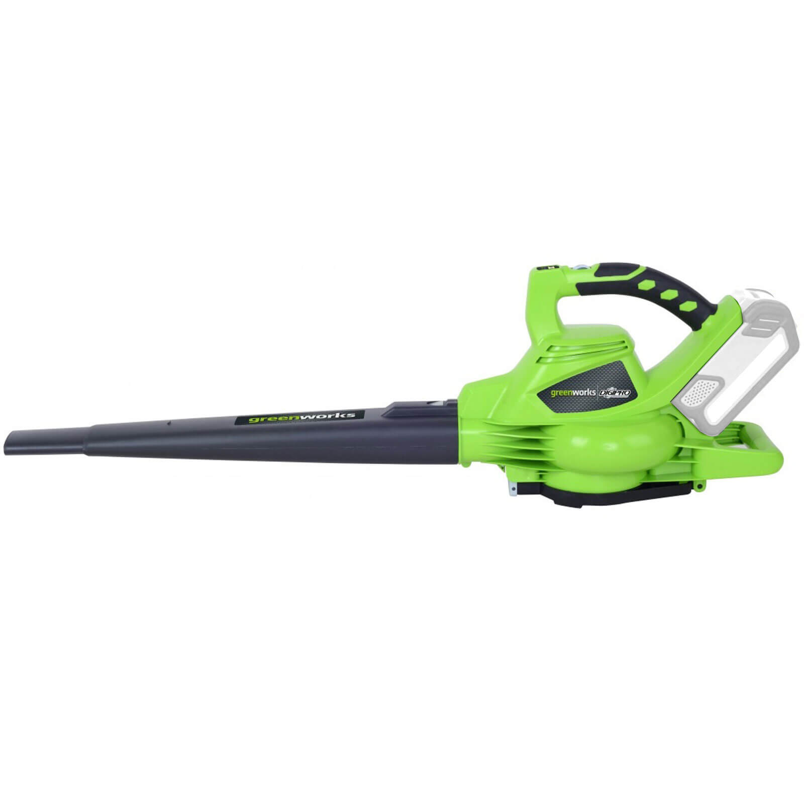 Greenworks GD40BV 40v Cordless Brushless Garden Vacuum and Leaf Blower No Batteries No Charger