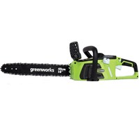 Greenworks GD40CS40 40v Cordless Brushless Chainsaw 400mm