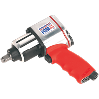 "Sealey GSA02 Twin Air Impact Wrench 1/2"" Drive"
