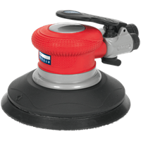 Sealey GSA04 Air Palm Random Orbital Disc Sander 150mm