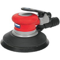 Sealey GSA05 Air Palm Random Orbital Disc Sander 150mm