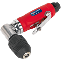 Sealey GSA231 Air Angle Drill with 10mm Keyless Chuck