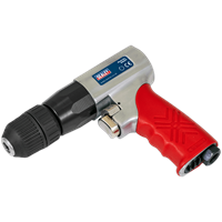 Sealey GSA241 Reversible Air Drill with Keyless Chuck 10mm