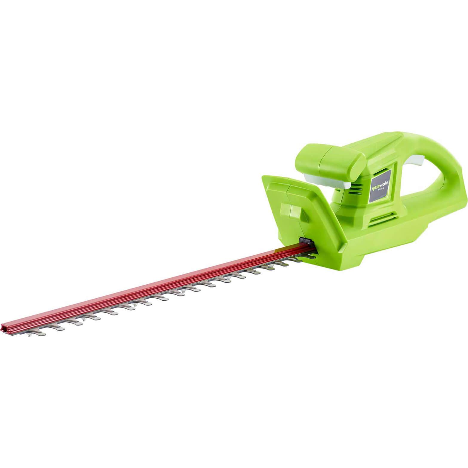 Greenworks G24HT 24v Cordless Hedge Trimmer 510mm No Batteries No Charger
