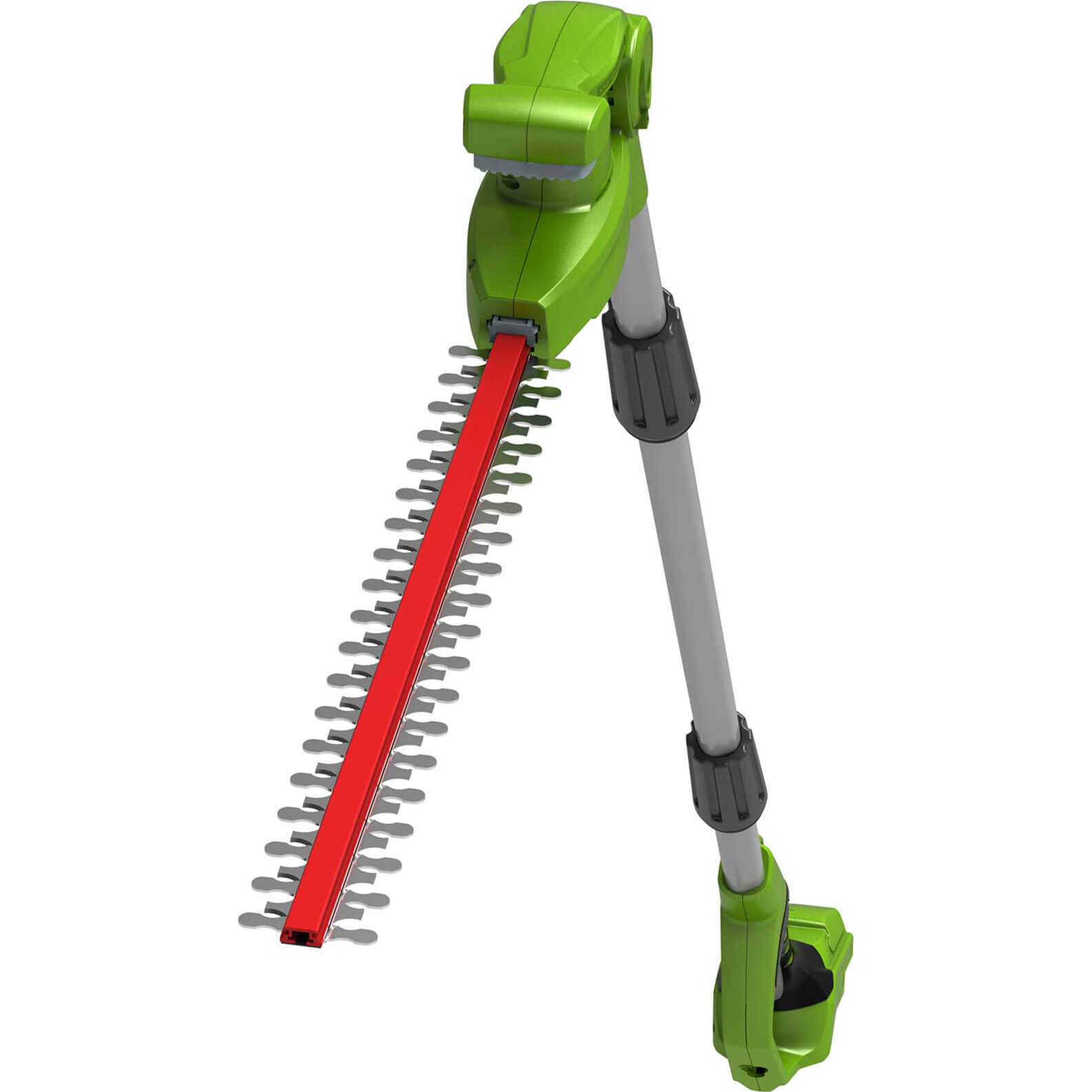 Greenworks G24LRHT 24v Cordless Long Reach Hedge Trimmer 510mm No Batteries No Charger