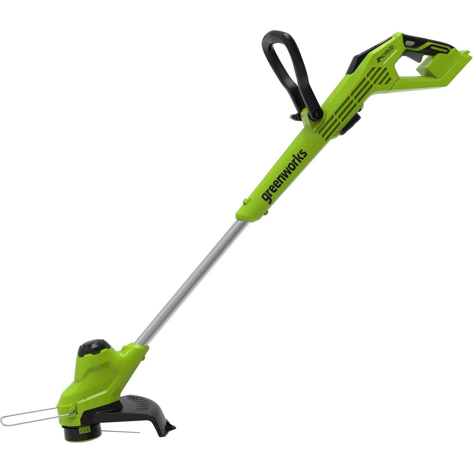 Greenworks G24LT28 24v Cordless Grass Trimmer 300mm No Batteries No Charger