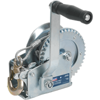 Sealey Hardened Steel Geared Hand Winch with Cable