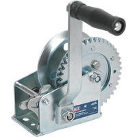 Sealey Hardened Steel Geared Hand Winch with Manual Brake