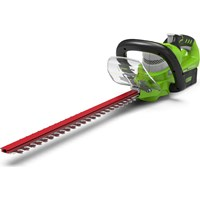 Greenworks G24HT57 24v Cordless Deluxe Hedge Trimmer 570mm