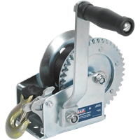 Sealey Hardened Steel Geared Hand Winch with Webbing Strap