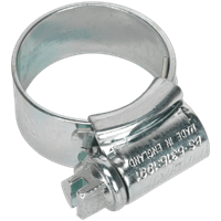 Sealey High Grip Zinc Plated Hose Clips