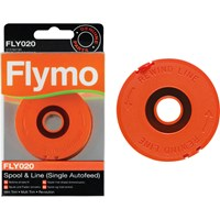 Flymo FLY020 Genuine Spool & Line for Single Line Grass Trimmers