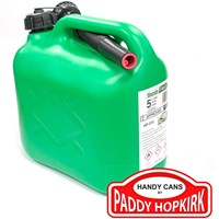 Paddy Hopkirk Plastic Fuel Can with No Spill Spout