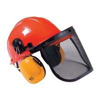 Handy Chainsaw Helmet with Ear Defenders