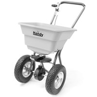 Handy THS80 Push Feed, Grass & Salt Broadcast Spreader