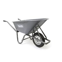 Handy THWB90 Wheel Barrow with Punctureless Wheels