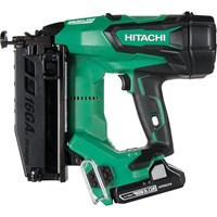 Hitachi Cordless 16 Gauge Straight Finish Nailer 18 Volt