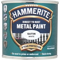 Hammerite Satin Finish Metal Paint