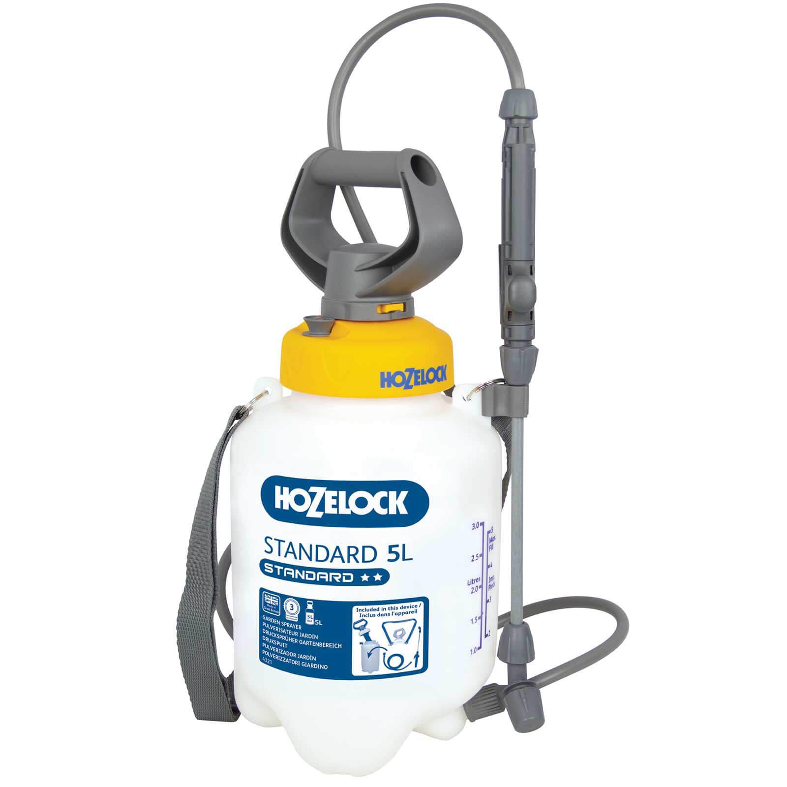 Hozelock STANDARD Water Pressure Sprayer 5l