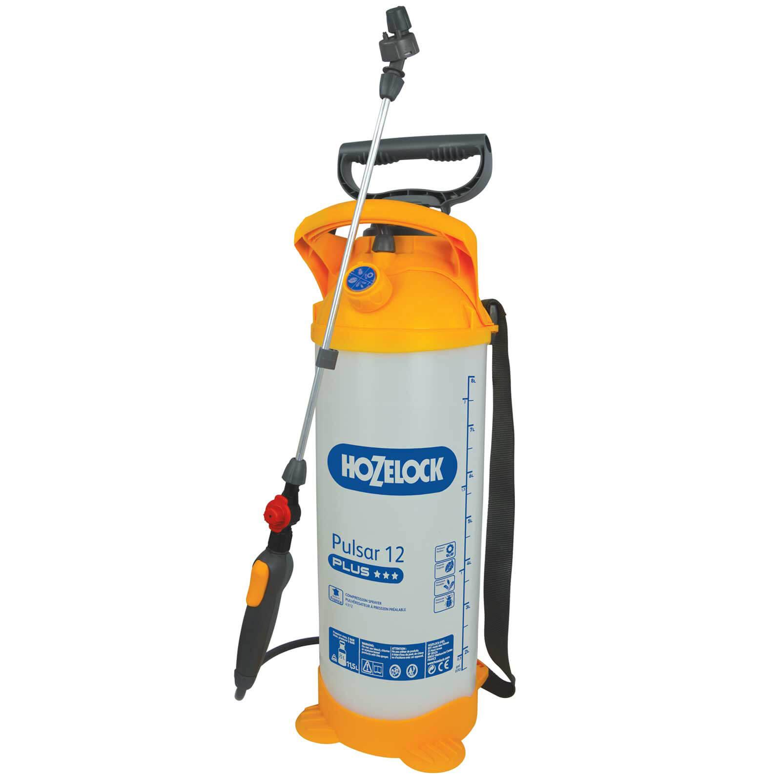 Hozelock PULSAR PLUS Water Pressure Sprayer 12l