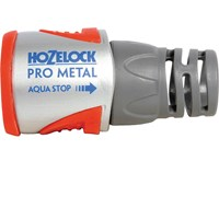 Hozelock Pro Metal AquaStop Hose Pipe Connector