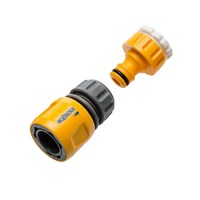 Hozelock Threaded Tap Hose Pipe Connector Set