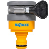 Hozelock Round Mixer Tap Hose Pipe Connector