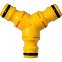 Hozelock Male Y Hose Pipe Connector