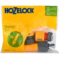 Hozelock Nozzle and Fittings Starter Set
