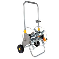 Hozelock Empty Metal Hose Reel Cart