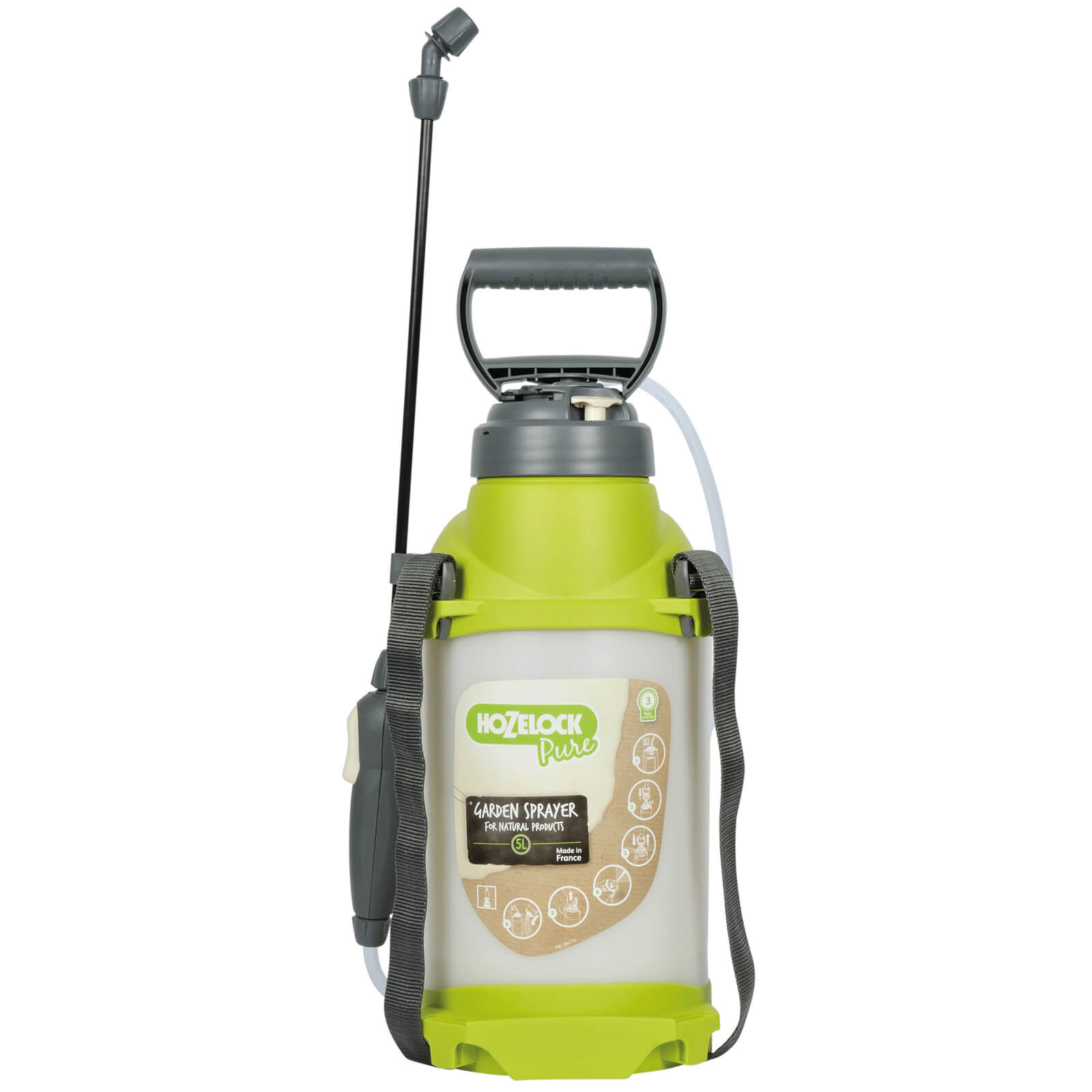 Hozelock Pure Water Pressure Sprayer 7l