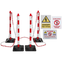 Sealey Exclusion Zone Barrier Kit
