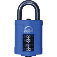 Henry Squire Heavy Duty Rust Proof Marine Combination Padlock