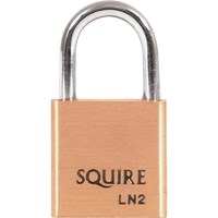 Squire Lion Series Brass Padlock
